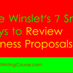 How to Peer Review Business Proposals