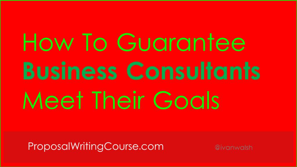 Consultants-Goals