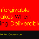 6 Mistakes to Avoid When Writing Deliverables