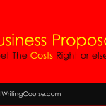 Business Proposals: How to Write Costs For RFPs