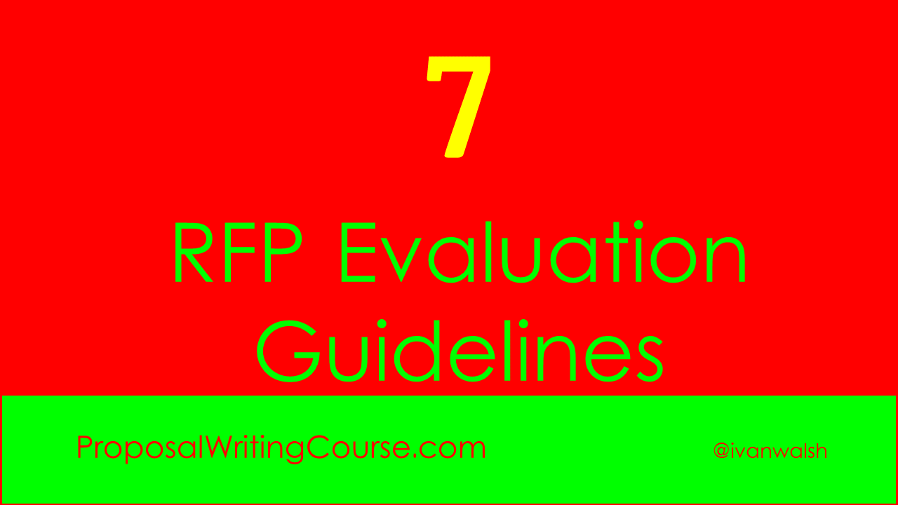 respond to rfp template - 7 request for proposal evaluation guidelines proposal