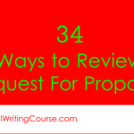 34 Ways to Review Request For Proposals