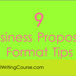 9 Business Proposals Formating Tips
