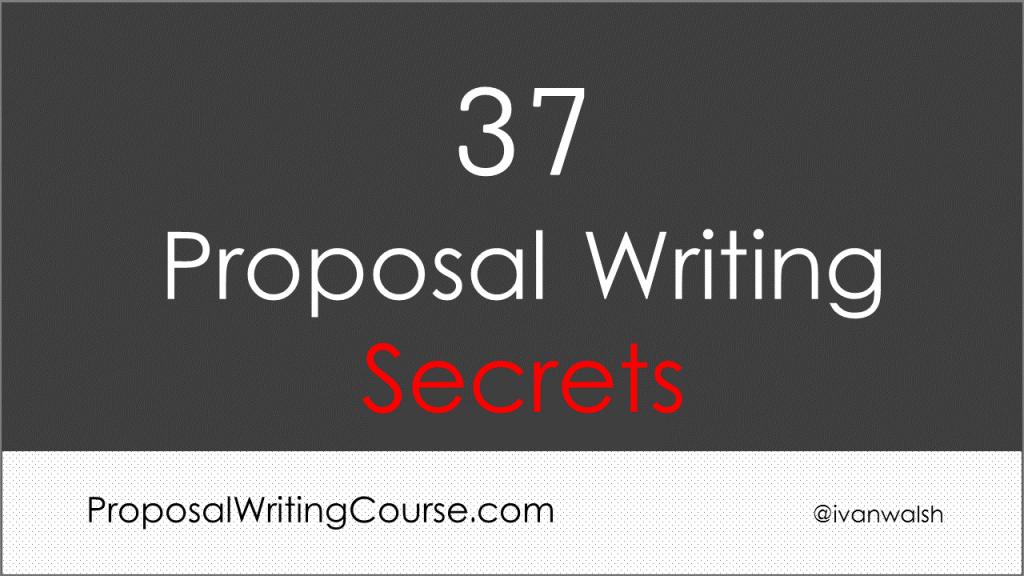 proposal-writing-secrets