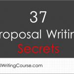 37 Proposal Writing Secrets
