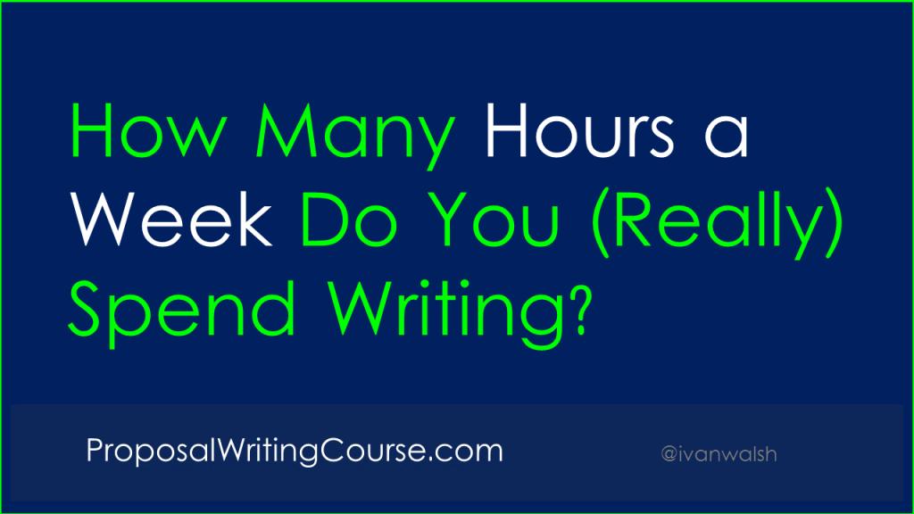 writing-hours-per-week