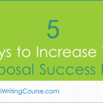 5 Ways to Increase Your Proposal Success Rate