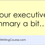 9 Ways To Improve Your Business Proposal's Executive Summary