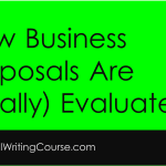 How Business Proposals are (Really) Evaluated