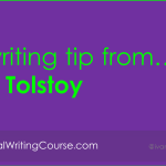 A [business] writing tip from… Tolstoy