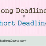 Proposal Writing: Short Deadlines