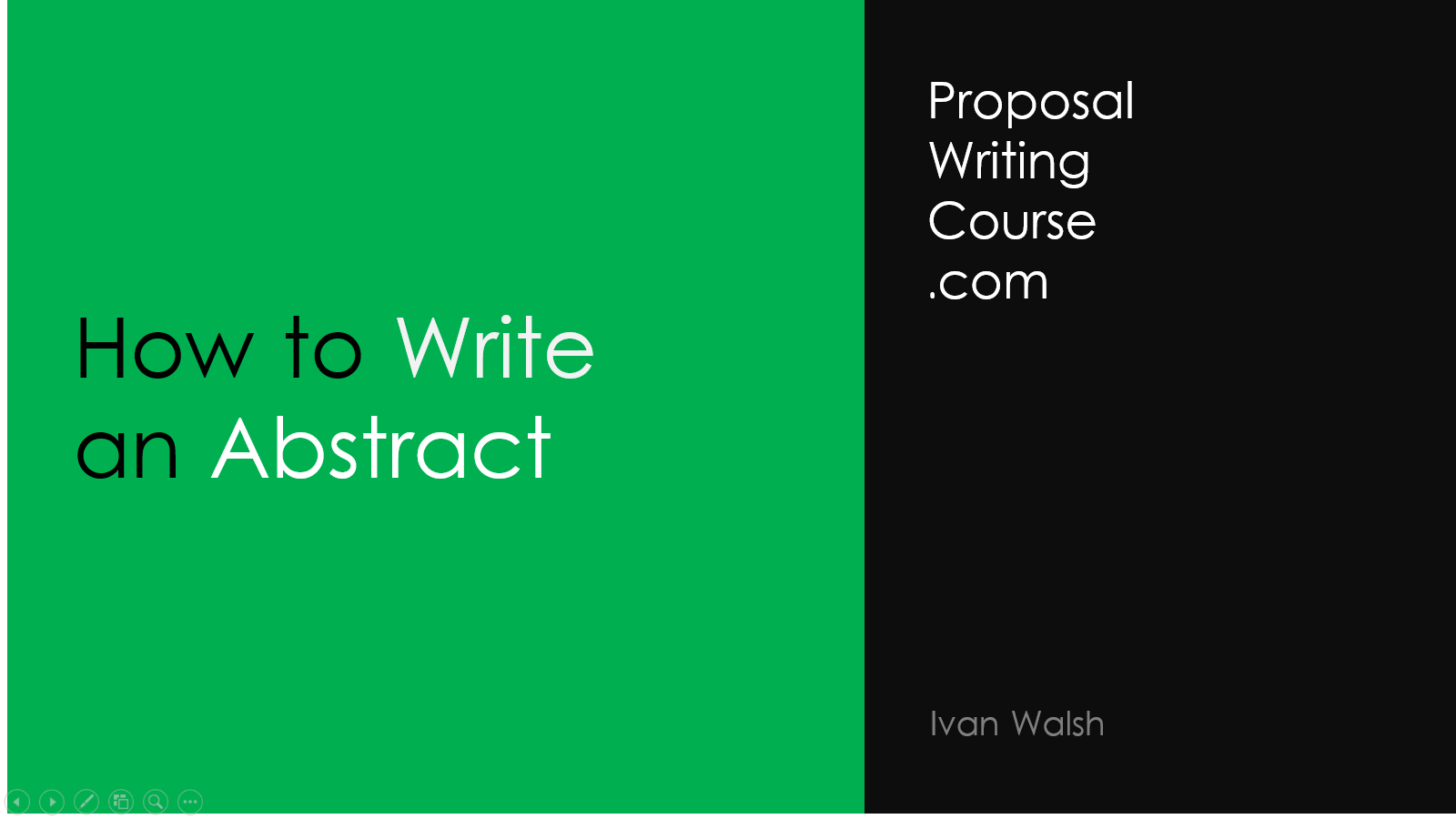 "tips on writing an abstract An abstract is supposed to be a concise summary of your entire paper or study  basically a written version of the 30 second ""elevator pitch."