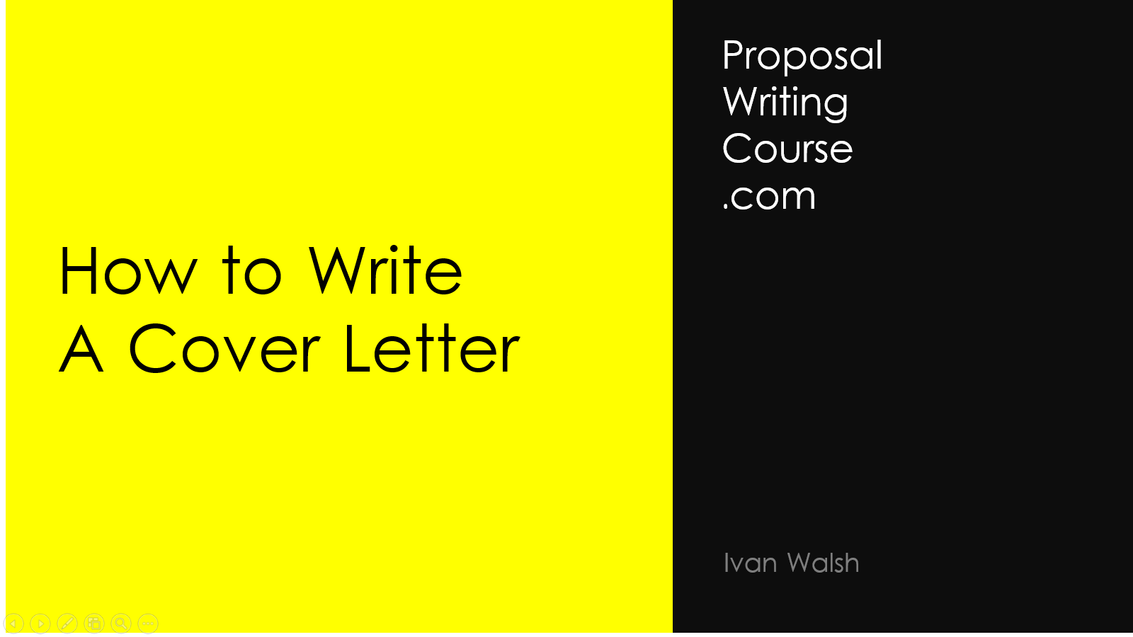 How To Write Cover Letter